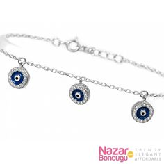 Infinity Bracelet with Evil Eye Charm Evil eye Infinity and Eye