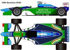 1994 benetton B194