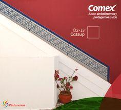 Más que colores son sensaciones esta temporada es ideal para pintar tu hogar con el rojo del amor. #Decoración