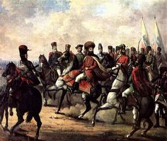 Mihai Viteazu (Michael the Brave) and his troops are pictured in a painting by Gheorghe Tattarescu Order Of The Dragon, Visual, History Painting, Painter, Art Database, 19th Century Paintings, Painting, Visual Art, Art