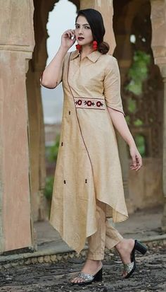 Salwar Designs, Kurti Neck Designs, Kurta Designs Women, Kurti Designs Party Wear, Beautiful Casual Dresses, Stylish Dresses For Girls, Fancy Kurti, Kurti Embroidery Design, Sleeves Designs For Dresses