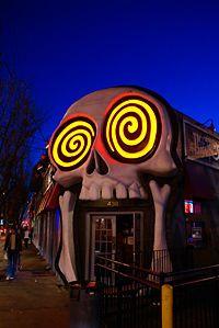 Vortex Restaurant in Little Five Points - 18+ Biker Bar with the world's greatest fried zuchini