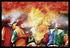 Danza de los Diablos Arlequines