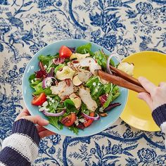 When life gives a #goodsalad, grab an extra bowl and #share it. #colorful #PaneraGoodness