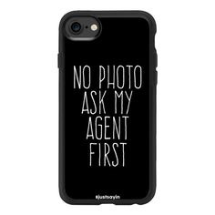 No photo Ask my agent first - iPhone 7 Case And Cover ($40) ❤ liked on Polyvore featuring accessories, tech accessories, phone cases, iphone case, iphone cases, apple iphone case, iphone cover case and clear iphone case