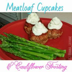 Meatloaf Cupcakes with Cauliflower Frosting- 100% Paleo, Dairy-free, Gluten-Free, and Fiance approved!! @anna_lavonne http://annalavonne.com/meatloafcupcakes/