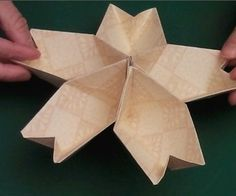 How to make the origami kusudama cherry Blossom Flower #papercraft #paper_craft