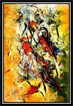 La Victoire - Peinture ©2011 par Edyth Généreux -              edyth généreux, artiste contemporaine, art visuel, art contemporain, galerie, gallery, oeuvres d'arts, contemporary art, montreal, canada, québec, www.edythgenereux.com