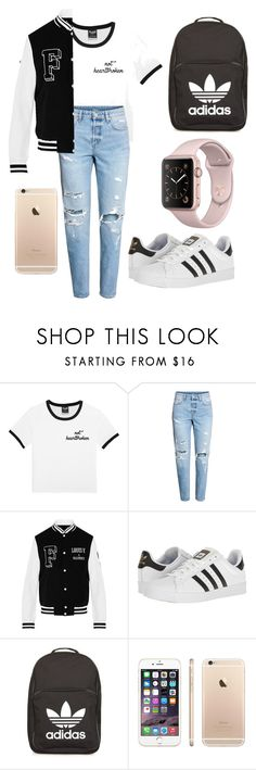 Untitled #107 by rayannzahriya on Polyvore featuring adidas