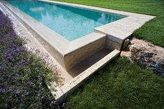 Piscina in travertino by INDALO PISCINE