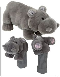 Okay, I know these are for golf clubs and I don't even like golf, but they are too cute to not be pinned! Mens Golf Outfit, Golf Head Covers, Golf Shoes, Cool Things To Make, Golf Clubs, Just In Case, Teddy Bear, Cute, Kids