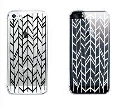 Mint Line Pattern Clear iPhone 5 5S 5C Case by fjoll on Etsy