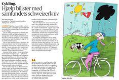 Alle vinder - især bilister- når investeringer i bedre forhold for cykling får flere til at cykle mere. Comics, Cartoons, Comic, Comics And Cartoons, Comic Books, Comic Book, Graphic Novels, Comic Art