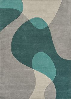 Matrix Rug MAX57 Arc Teal