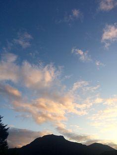 Облака в Норвегии 😍