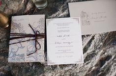Game of Thrones Wedding Inspiration - Robb Stark wedding invitations - amazing.
