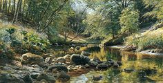 Peder Mork Monsted, Dinamarca, 1859-1941