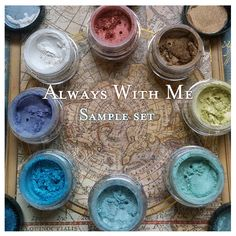 Always With Me mineral eyeshadow collection (Spirited Away)