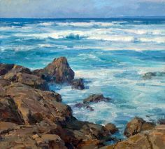 "I think this man is one of our greatest artists, which oddly makes me very selective of which of his painting to include on my board. Clyde Aspevig | ""The Pacific"""