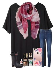 """""""""""Changing was never a bad thing, it never was"""" ~ Shawn"""" by kari-luvs-u-2 ❤ liked on Polyvore featuring Base Range, 7 For All Mankind, Humble Chic, Casetify, Hunter, Stila, NARS Cosmetics, Essie, Dina Mackney and Tory Burch"""