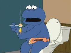 Poor Cookie Monster...