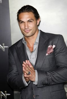 jason momoa!!! from games of thrones!! he too over dressed!!