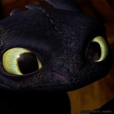 Toothless is so cute here.