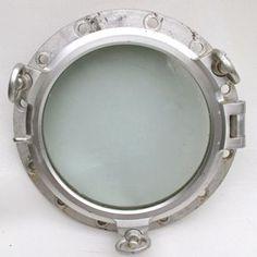 Aluminium Ships Opening Porthole 3 Key 35cm with Lip
