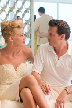 Are Amber Heard and Johnny Depp set to marry next week....?
