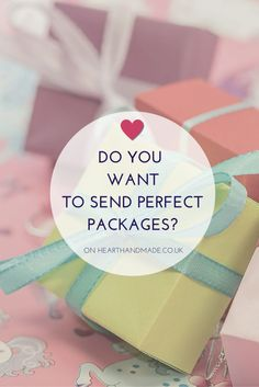 Ideas for Packaging Your Etsy Shop Items