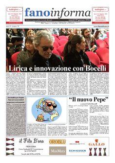 Fano Informa - 29 gennaio edizione cartacea