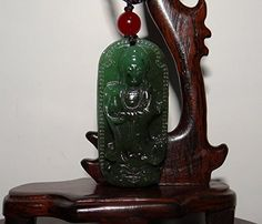 "2"" China Certified Nature Nephrite Hetian Green Jade Kwan... http://www.amazon.com/dp/B01FU5S0JW/ref=cm_sw_r_pi_dp_0jBqxb10AP94Y"