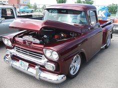 1958 chevy truck by corvair dude, via Flickr