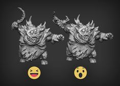 We are currently working on new demonic infantry models, could you help us choose weapon option for those fellas. Sickles or mutated claws?