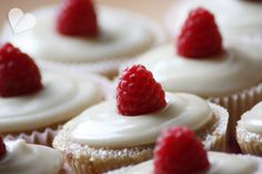 dreierlei liebelei – blog für schönes: Himbeer-Cupcakes