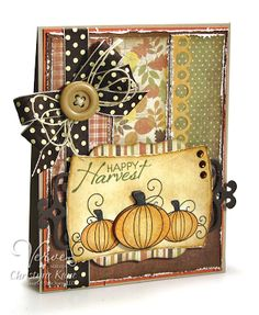 From Christyne Kane in Australia.   Stampin' with Sugar: Verve Stamps