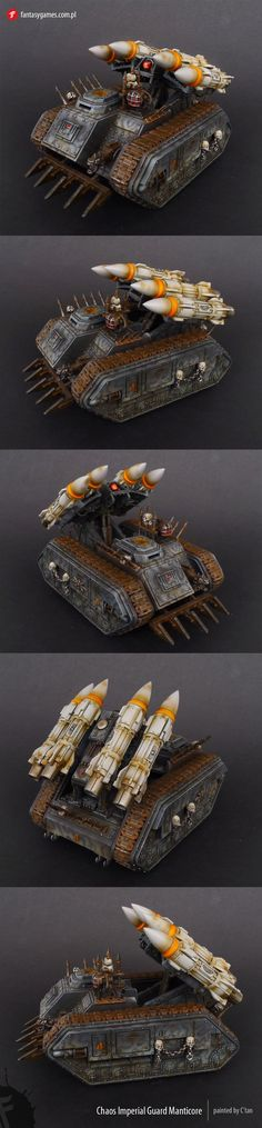 Chaos Imperial Guard Manticore