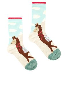The best socks ever! (Even though they are Llamas not Alpacas) Funky Socks, Cool Socks, Llama Socks, Anna, Llama Alpaca, Accessorize Bags, Designer Socks, Stitch Fix Stylist, Fun Prints