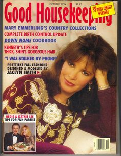 JACLYN SMITH Good Housekeeping Magazine 10/94 REGIS PHILBIN KATHIE LEE GIFFORD | Books, Magazine Back Issues | eBay!