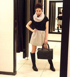 Naturaleţea, o alegere îndrăzneaţă! Chic, How To Wear, Style, Fashion, Shabby Chic, Swag, Moda, Elegant, Fashion Styles