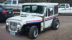 1971 Jeep DJ Custom Mail Truck
