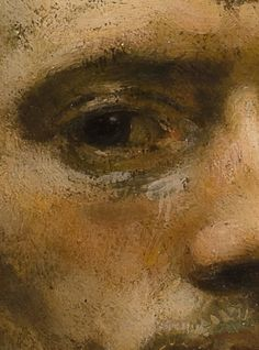 Carel Fabritius, Self-Portrait (detail), Painting People, Figure Painting, Rembrandt, Close Up Art, Sad Art, Encaustic Painting, Portrait Art, Painting Techniques, Art Oil