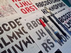 The impossible process of creating a typeface by Darren Peter Reay