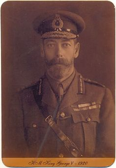 HM King George V 1920--not a Romanov, but a first cousin to Tsar Nicholas, who refused to grant the family asylum when there was still an opportunity to do so. He closely resembled his cousin.