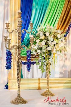 Suhaag Garden, Indian Wedding Decorator, Florida wedding Decorator, Candelabra Floral