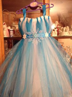 Frozen's Elsa tutu dress by TutuCuteCreates on Etsy, $45.00
