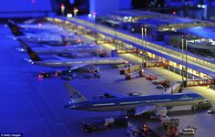 Very cool model airport. The link will take you to a site that also has a video showing the model in motion...pretty impressive.