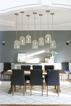 7deb2feaa7 Blogs --- Bower Power · See how we installed these beautiful Multiple  Dining Pendant Lights that makes our dining room my