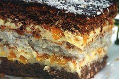 Ciasto z masą brzoskwiniową