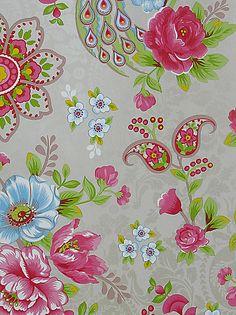Buy PiP Studio Flowers in the Mix Wallpaper, Khaki, 313052 online at JohnLewis.com - John Lewis £60/roll
